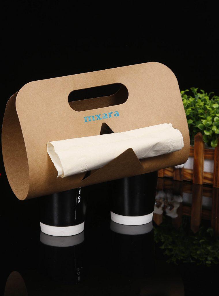 Túi giấy đựng ly cafe mang về